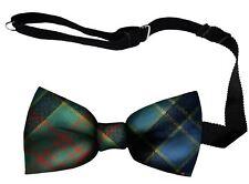 Mens Bow Tie Woven in Scotland Paisley District Tartan