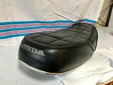 1971-1973 Honda CB500F CB500K Original Motorcycle Seat - No Rips!