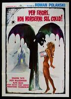 Werbeplakat Für Bitte Nicht Beiß Mich Auf Neck Dance Vampires Polanski Dracula