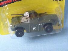 Matchbox Weasel Tank MB-77 Green Body Toy Model Car in BP 70mm