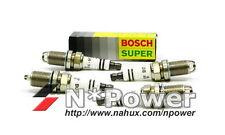 BOSCH SPARK PLUG SET FOR HONDA CR-V RD7 08.02 - 10.06 2.4 119 K24A1