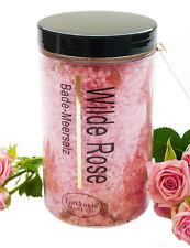 (€ 31,00/kg) Badesalz Wilde Rose Natursalz Bade Meersalz aus dem Toten Meer 450g