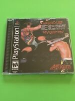 🔥PS1 PlayStation 1 PSX GAME 💯COMPLETE WORKING GAME 🔥 ECW HARDCORE REVOLUTION