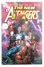 The New Avengers 1Nm- (2005 1st series) 2nd print signed by David Finch Wizard