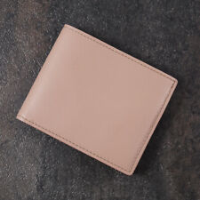 Tom Ford Light Pink Leather Large Bi-Fold Wallet with ID Window NWT