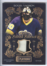 13/14 Panini Playbook Fabled Fabrics Rogie Vachon 2 Color Prime Jersey #09/10