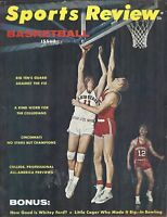 1962 Sports Review magazine, basketball Ohio State Buckeyes Louisville Cardinals
