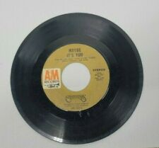 Carpenters - Maybe It's You / Hurting Each Other A&M 1972 *45 Rpm Vinyl Record
