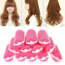 12Pcs Sponge Hair Styling Rollers Curlers Magic Sponge Cushion Foam Twist Tool