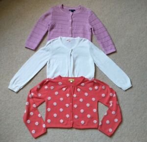 3 X Girls summer Cardigans Age 8 Years From Gap, Blue Zoo & Verbaudet