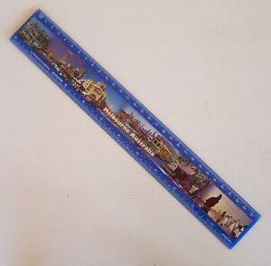 VINTAGE MELBOURNE VICTORIA AUSTRALIA LANDMARKS PROMO PHOTO 30cm 12in RULER
