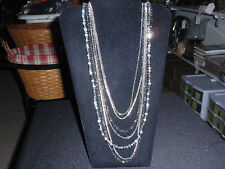 """Park Lane Jewelry, """"GLAM & GO"""" Necklace, Chains and Hematite Beads  New!!!"""