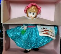 "Madame Alexander 8"" Little Women Miss Muffet Doll #452 With Original Box & Tag"