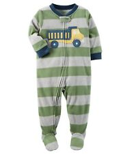 Carter's Boys' Footed Fleece Pajamas Blanket Sleeper Size 6