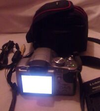 PANASONIC DMC-FZ28 DIGITAL CAMERA WITH CASE CORDS CHARGER IN NICE CONDITION