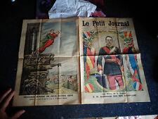 Ancien LE PETIT JOURNAL 1913 Sa Majesté  Alphonse XIII Roi d'Espagne