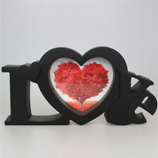 All Smiles Black Heart Love Gifts Picture Frame Romantic Gift for Boyfriend