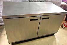 Delfield Commercial 2-Door Work Top Cooler Under Counter Cooler