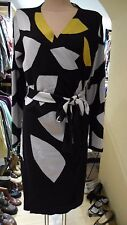 Luxus edles Designer Kleid dress Diane von Furstenberg Cardigan Gr. L NEU