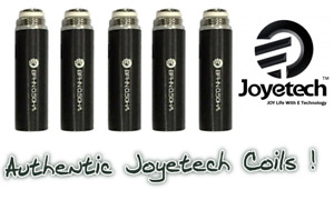 Authentic Joyetech eGo AIO ECO Replacement BFHN Coil Head (5-Pack) 0.5ohm(6-8W)