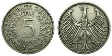 Germany - 5 Mark 1951G - Silver