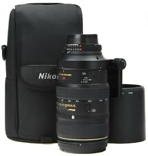 NIKON VR 80-400mm ED 4.5-5.6D + Case ===Mint===