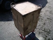 GERMAN WW2 PARACHUTE CONTAINER Box Tropical  FALLSCHIRMJAGER South front