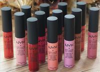 HOT NYX Cosmetics Soft Matte Lipstick Liquid Lip Gloss Color Pick