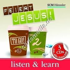 CD-Box: FEIERT JESUS! TO GO 2 - Listen & Learn - 3 CDs inkl. aller Noten-PDFs