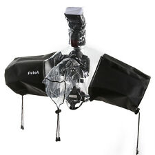 Professional DSLR +Flash Rain Cover Snow Sand Bag Protector f Canon Nikon Camera
