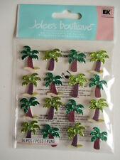 Jolee'S BOUTIQUE Pegatinas 3D-Palmera repite-vacaciones tropicales