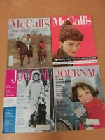 Vintage 1961 '62 '63 McCalls Ladies Home Journal Magazine Lot Jacqueline Kennedy