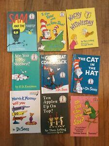 9 Vintage Dr Seuss Beginning Readers Books