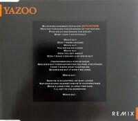 Yazoo Maxi CD Situation (Remix) - 1991 - France (EX+/EX+)