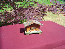 Vintage Befag Swiss Made Wooden Chalet Music Box Working Condition #84 Whisperi