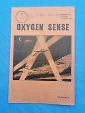 ww2 RAF Oxygen sense pamphlet