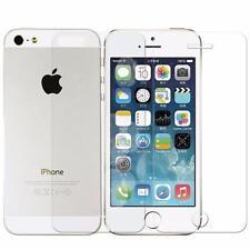 Genuine vetro temperato salvaschermo per iPhone 5 5s (ANTERIORE E POSTERIORE)