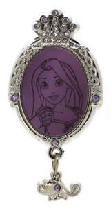 2017 Disney HKDL Princess Jeweled Frames Rapunzel Pin Rare