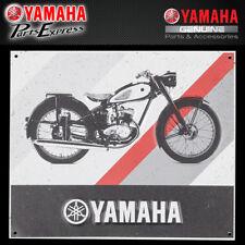 NEW YAMAHA YA-1 TIN SIGN BLACK GREY RED VINTAGE YA-1 VDF-SY001-PC-TN