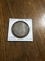 1821 Capped Bust Half Dollar In AU Condition FREE Shipping!
