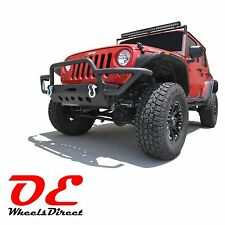 Tubular Off Road Front Bumper 02 KO Off Road fits JK Jeep Wrangler 2007-2016