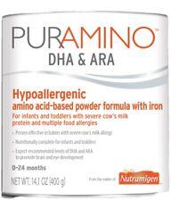 Nutramigen 129023 PurAmino DHA and ARA Hypoallergenic Formula Amino Acid Powder