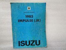 1985 ISUZU WORKSHOP MANUAL IMPULSE (JR) 2-90999-103-5