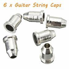 "6Pcs Musical Guitar String Caps Temperament 1/4"" String Ferrules Telecaster"