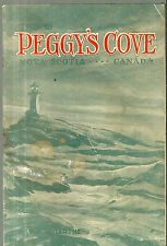 Vintage Guide Book Peggy's Cover Nova Scotia Canada