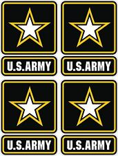 4x Sticker US Army Military Forces United States Stickers Bumper Helmet Locker