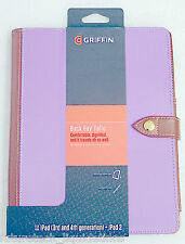 DAMAGED ITEM - GRIFFIN BACK BAY FOLIO CASE FOR IPAD 2, 3 & 4 - GB36254