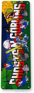 Ghost n Goblins Arcade Sign, Classic Arcade Game Marquee Tin Sign B030