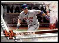 2017 TOPPS HOLIDAY SNOWFLAKES DAVID WRIGHT NEW YORK METS #HMW68