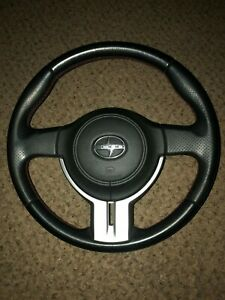 toyota 86 scion fr-s subaru brz oem steering wheel like new